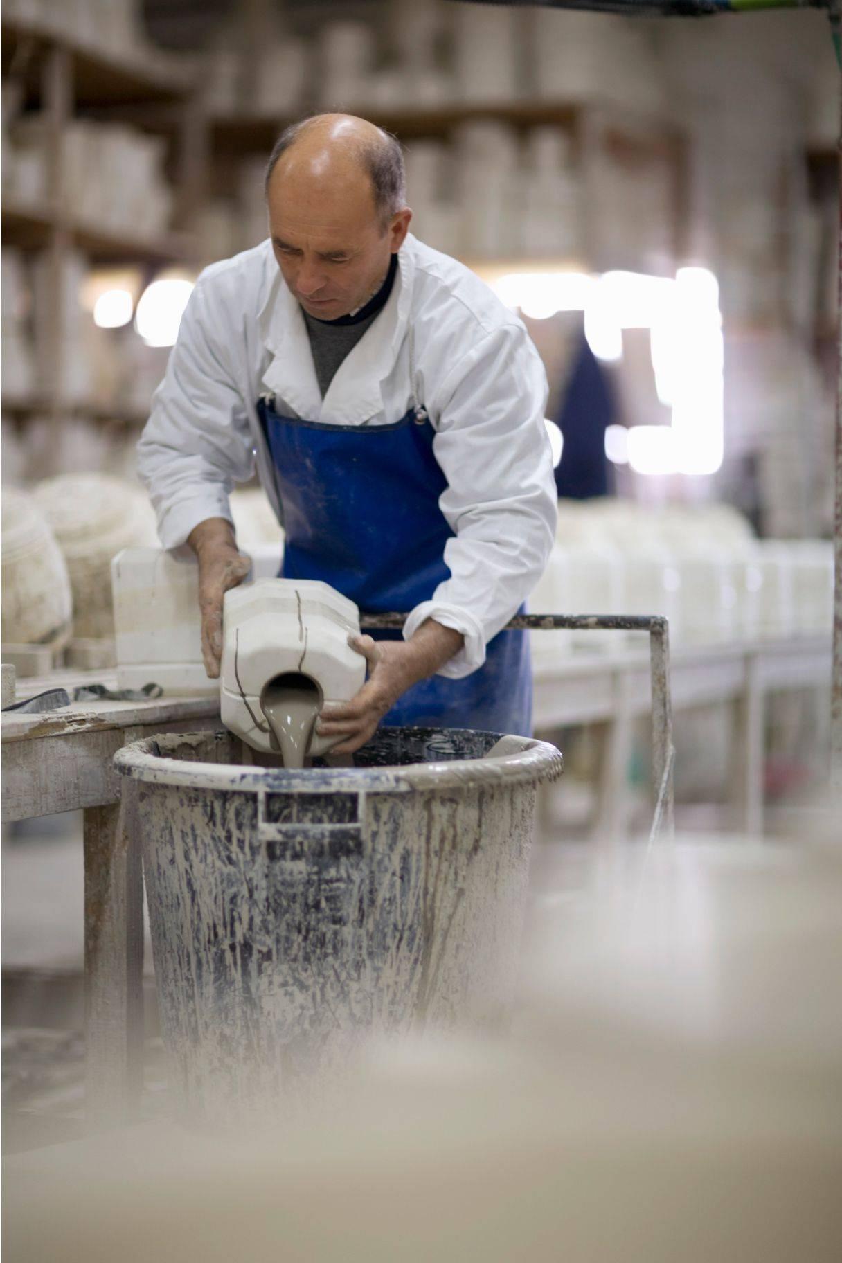 Lace production